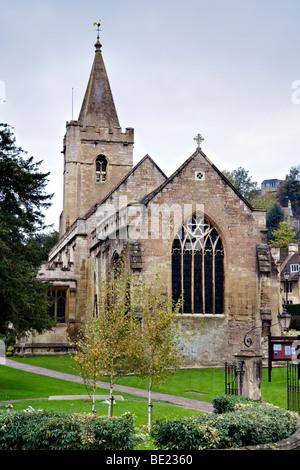 Holy Trinity church in Bradford on Avon, Wiltshire - Stock Photo