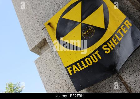 Fallout Shelter, USA - Stock Photo