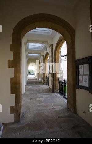 Cloisters 'Dulwich Village' South London SE21 London UK - Stock Photo