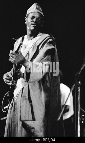 Ali Farka Toure playing the Hackney Empire, London 1991 - Stock Photo