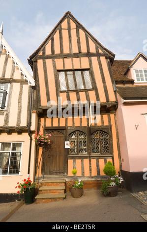 The Crooked House Lavenham Suffolk UK - Stock Photo