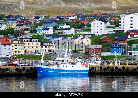 Hammerfest, Norway, Scandinavia, Europe - Stock Photo