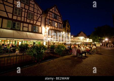 Historic centre, Place de l'Ancienne Douane - Colmar, Colmar, Alsace, France, Europe - Stock Photo
