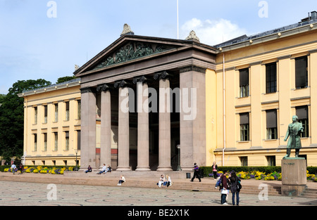 University of Oslo, Norway, Scandinavia, Northern Europe - Stock Photo