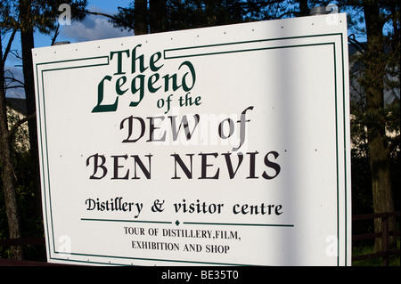 Ben Nevis Whisky Distillery, Fort William, Scotland, United Kingdom, Europe - Stock Photo