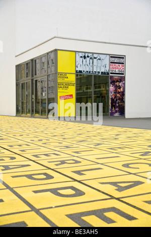 Berlinische Galerie, art museum, Kreuzberg district, Berlin, Germany, Europe - Stock Photo