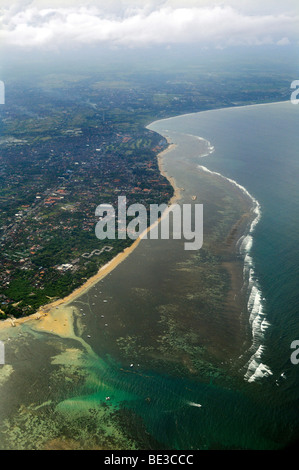 Departure from Denpasar, Bali, Indonesia, Southeast Asia - Stock Photo