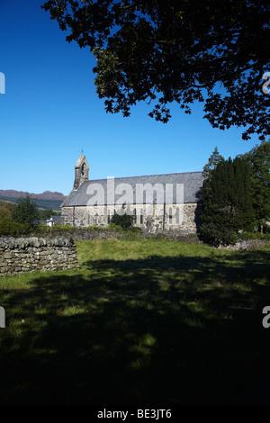 St Mary's Church, Beddgelert, Gwynedd, North Wales, UK
