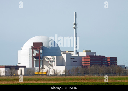 Nuclear power station / Brokdorf - Stock Photo