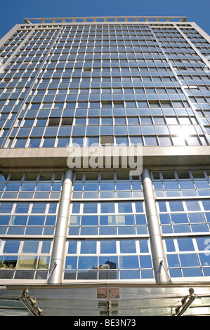 Corporate headquarters of Evonik Industries AG, Essen, Ruhrgebiet region, North Rhine-Westphalia, Germany, Europe - Stock Photo