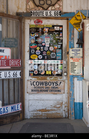 The Hackberry General Store in Arizona along Route 66. - Stock Photo