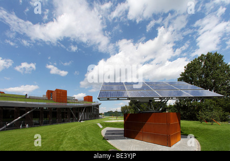 Solon SE: headquarters with modern production site in Berlin, BERLIN, GERMANY - Stock Photo