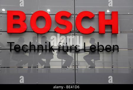 63th International Motor Show ( IAA ): stand of the company Bosch - Stock Photo