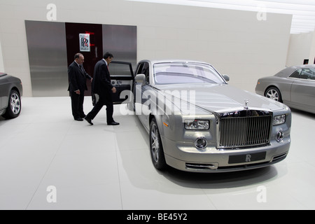 63th International Motor Show ( IAA ): presentation of the car manufacturer Rolls-Royce - Stock Photo