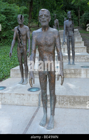 Memorial for the victims of communism, Prague, Czech Republic, Europe - Stock Photo