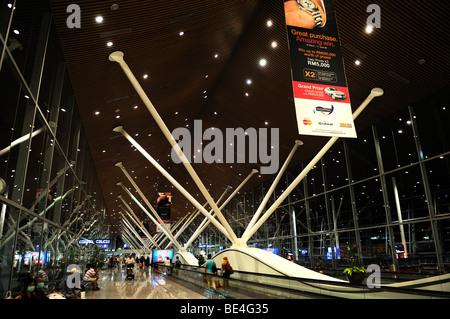 Airport, Kuala-Lumpur, Malaysia, Southeast Asia - Stock Photo