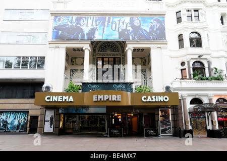Empire Casino and Cinema, Leicester Square, London, England, United Kingdom, Europe - Stock Photo