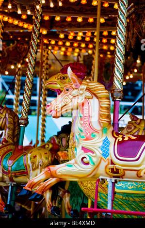 Carousel ride - Stock Photo