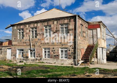 Old farmhouse in a mountain village near Sisian, Armenia, Asia