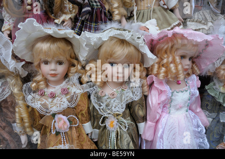 Dolls, Prague, Czech Republic, Europe - Stock Photo