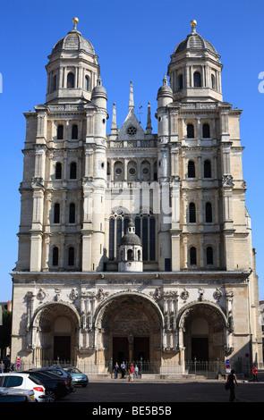 Church of Saint-Michel, Dijon, Burgundy, France. - Stock Photo