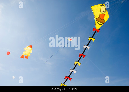 Large Kites, Figures, International Kite Festival, Bristol, UK