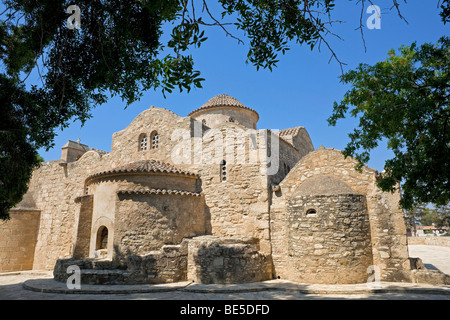 Church of Panagia Angeloktistos, built from the angels, UNESCO World Heritage Site, Kiti, Cyprus, Greek section, - Stock Photo