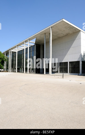 The art museum Pinakothek der Moderne, Munich, Upper Bavaria, Bavaria, Germany, Europe - Stock Photo