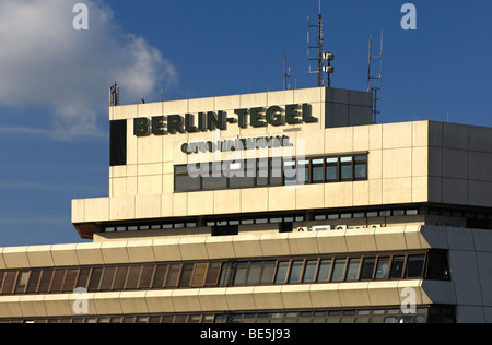 Airport Otto Lilienthal, Berlin-Tegel, Berlin, Germany, Europe - Stock Photo