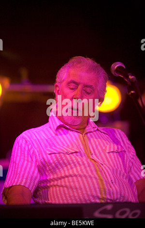 John Mayall & the Bluesbreakers at BB King Blues Club Manhattan New York USA - Stock Photo