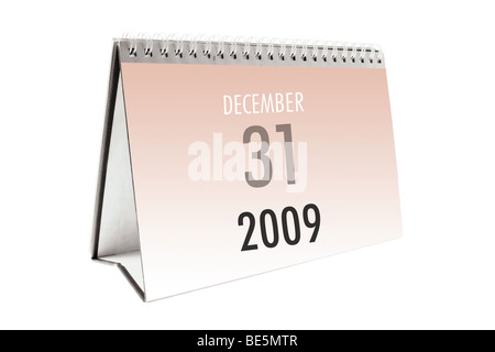 Desk Calendar - Stock Photo