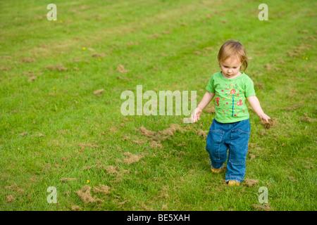 Walking girl - Stock Photo