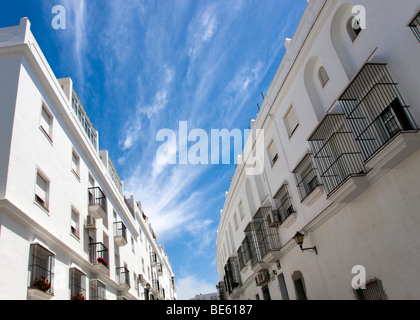 Houses in the small town of Vejer de la Frontera, Andalusia, Spain, Europe