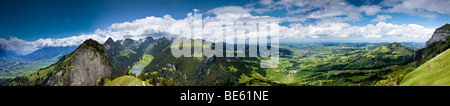View of the Appenzell, Switzerland, Europe - Stock Photo