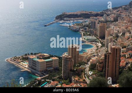 Principality of Monaco, Cote d'Azur, Europe - Stock Photo