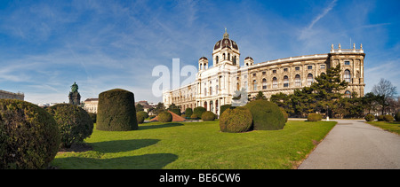 Naturhistorisches Museum, Museum of Natural History in Vienna, Austria, Europe - Stock Photo