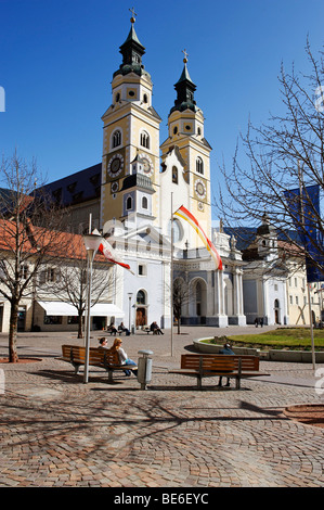Cathedral Brixen, Bressanone, South Tyrol, Italy, Europe - Stock Photo