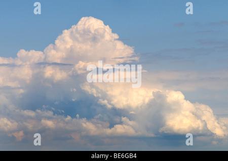 Towering cumulonimbus cloud - Stock Photo