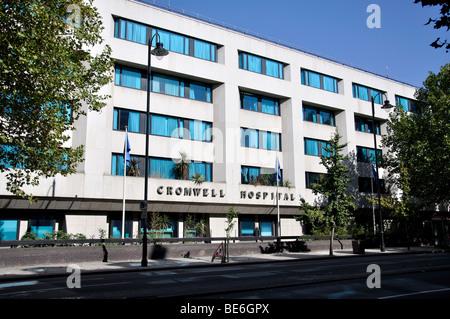 Cromwell Hospital, Cromwell Road, Kensington, Royal Borough of Kensington and Chelsea, London, England, United Kingdom - Stock Photo