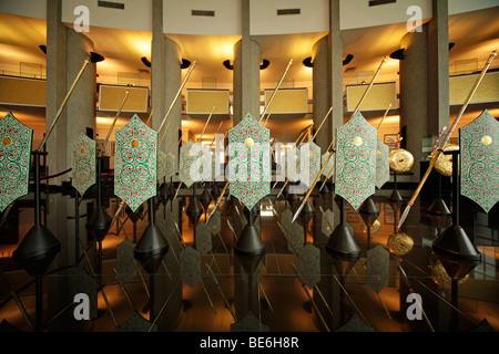 Royal Treasury, Royal Regalia Museum in the capital city, Bandar Seri Begawan, Brunei, Asia - Stock Photo