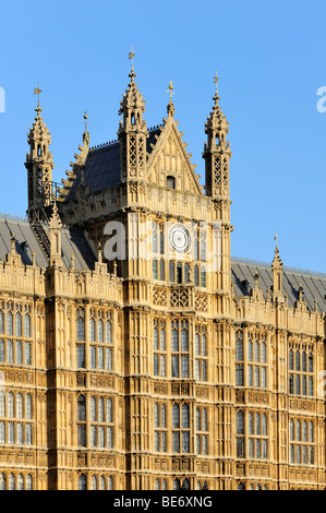 The Central Tower of Westminster Palace, London, England, United Kingdom, Europe - Stock Photo