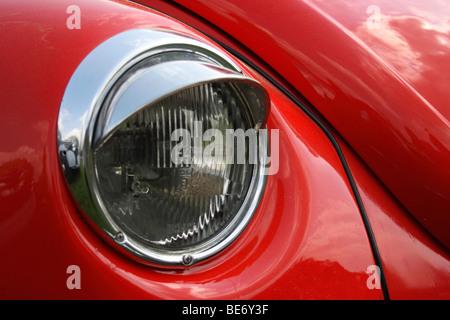 Headlight VW Beetle, Type 1303 - Stock Photo