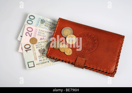 Polish currency - Stock Photo