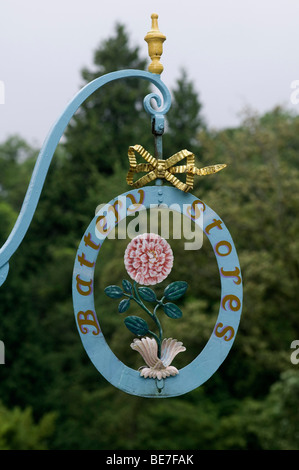 Architectural detail at Portmeirion Village Gwynedd, North Wales - Stock Photo