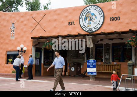 Garden of the Gods Trading Post, Colorado, USA - Stock Photo