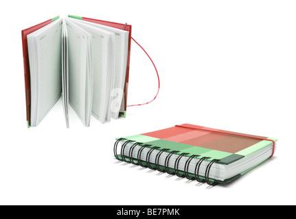 Diaries - Stock Photo