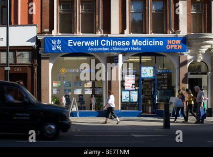 Everwell Chinese Medicine, Shaftesbury Avenue, London, England, UK, Europe - Stock Photo
