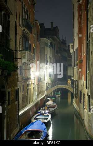View from Ponte S. Maria Mater Domini, Venice, Italy, Europe - Stock Photo