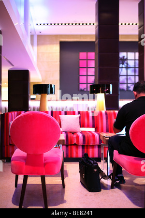 Hotel Lobby, Miami Beach, Florida Stock Photo: 75282272 - Alamy
