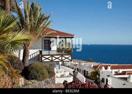 Hotel jardin tecina playa de santiago la gomera stock for Hotel jardin concha la gomera